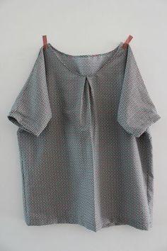 T-shirt loose pour l'été mais aussi à décliner. (http://seweasy.canalblog.com/archives/2013/07/07/27589771.html)