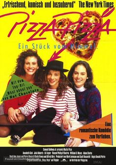 Mystic Pizza German poster #2, 1988