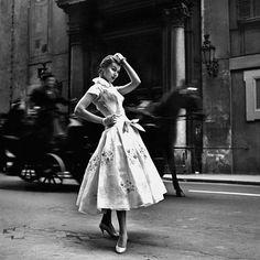 Emilio Schubert, Rome 1955 by Federico Garolla