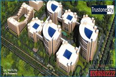 Resale Property in NCR, New Property in NCR, Commercial Property in NCR, Residential Property: Trustone Greens 2BHK and Studio in Greater Noida