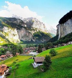Lauterbrunnen, Switzerland | Bernese Alps, Switzerland