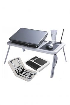 I found this Portable Laptop E-table With USB Cooling Fan  in 100bestbuy.com. I actually found it interesting, as it is for a good deal,  i would like to share it.