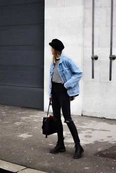 Dr Martens boots outfit ideen dr martens Outfit with Dr Martens - Katiquette Dr. Martens, Dr Martens Stiefel, Botas Dr Martens, Style Outfits, Mode Outfits, Winter Outfits, Summer Outfits, Casual Outfits, Grunge Outfits