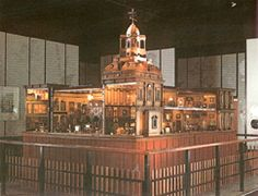 The palace as it was exhibited in Legoland from 1980 to 2006