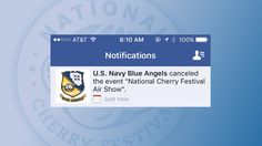 U.S. Navy Blue Angels Still Planning To Perform At National Cher - Northern Michigan's News Leader