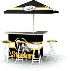 Pittsburgh Steelers Portable Tailgate Bar Set #UltimateTailgate #Fanatics