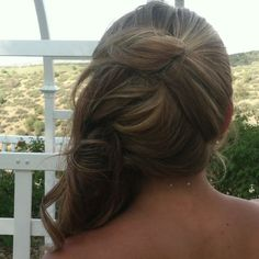 Chelates hair for rubys wedding