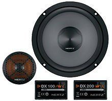 """DSK 165 HERTZ 6.5"""" 2-WAY 160W COMPONENT CAR SPEAKER SYSTEM MIDS TWEETERS CROSSOVERS by Hertz. $174.87. General Features:  6.5"""" 2-Way Component Speakers, Power Handling: 80 (RMS) - 160 (peak) Watts, Impedance: 4 Ohms, Top Mount Depth: 61 mm,  Woofer: Water Repellent Treated Paper Woofer Cone, Woofer Diameter: 166 mm, Mounting Hole Diameter: 142 mm, High Density Flux Ferrite Magnet, Magnet Size: 70 mm, Sensitivity: 93 dB, Frequency Response: 50 - 21,000 Hz,  Include..."""