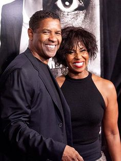 """Denzel and Pauletta Washington...Married June 25, 1983 Know What's Important The 56-year-old actor, a devout Christian, has been married to Pauletta Washington for 28 years. Washington's priorities reflect his values: """"Acting is just a way of living. Family is life."""""""