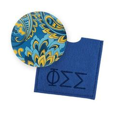 Phi Sigma Sigma Button Mirror $4.95 #Greek #Sorority #Accessories #Gifts #BackToSchool #PhiSigmaSigma #PhiSig