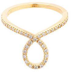 Diamond ring / ShopStyle(ショップスタイル): [COCOSHNIK]ダイヤモンド ペアシェイプリング
