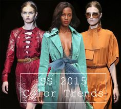 Looking for color options for the spring and summer weddings I'm going to...  Spring/ Summer 2015 Color Trends - Fashionisers