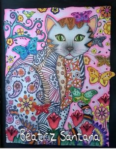 Inspirational Coloring Pages por Beatriz Souza  #coloringbooks #livrosdecolorir…