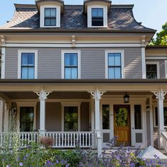 1000 images about exterior board on pinterest porticos gray house exteriors and exterior Benjamin moore taupe exterior