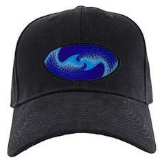 d9bcc8af608 Blue Wave Black Cap   Awesome Palette Wave