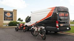 One Up Adventures Ford Transit Partial Wrap | Car Wrap City