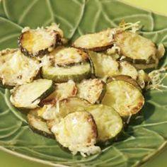 Parmesan Zucchini - An 82 Calorie Side Dish