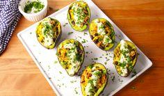 Chicken Taco Avocados  - Delish.com