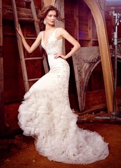 Bridal Gowns, Wedding Dresses by Lazaro - Style LZ3551