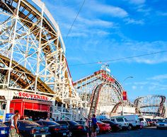 The Cyclone at Coney Island