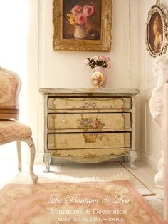 MarieAntoinette distressed Shabby green gray and by AtelierdeLea, €79.00