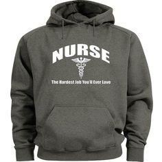 Nurse sweatshirt Nurse hoodie nursing saying quotes Men size nursing sweatshirt  #Gildan #Hoodie