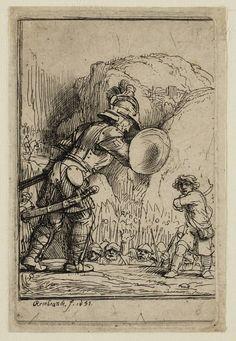 Mijn favoriete Rembrandt in Teylers Museum: David en Goliath (B36)