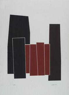 Composizione, 1977 Litografia, mm. 700x500; es. 11/20