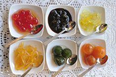 10 μυστικά της Ντίνα Νικολάου για λαχταριστά γλυκά κουταλιού - www.olivemagazine.gr Greek Recipes, Cantaloupe, Fruit, Vegetables, Desserts, Food, Tailgate Desserts, Deserts, Vegetable Recipes