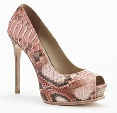 Kenneth Cole New York Top Tier Heel Coral Multi Design works No.445 |2013 Fashion High Heels|