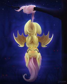 my little pony, fluttershy, flutterbat