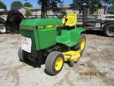 John Deere  318  garden tractor