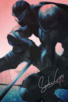 Snake Eyes by Artgerm | Stanley Lau