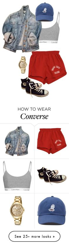 """98°"" by mims-out on Polyvore featuring Express, Converse, Vans and Lucien Piccard"