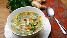 Immunity-boosting chicken soup
