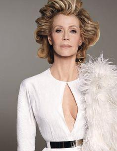 Jane Fonda by Steven Meisel for W Magazine June July 2015