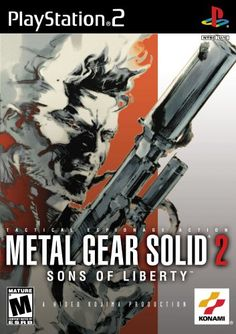 Metal Gear Solid 2: Sons of Libert - personally my favorite from the series but Snake Eater comes close