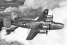 Consolidated C-87 Liberator Express. Transport version.