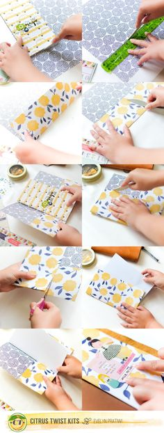 Citrus Twist Kits: Tutorial - DIY Travel Insert with Evelyn Pratiwi Yusuf