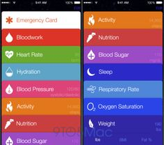 Apple's Upcoming Healthbook Software For iOS 8 Extensively Profiled Amid New Leaks