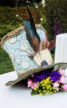 Decor: Alice In Wonderland Inspired Vow RenewalEver After Blog | Disney Fairy Tale Weddings and Honeymoon
