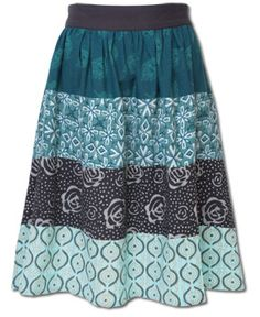SoulFlower-NEW! River Tiered Skirt-$58.00