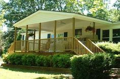Mobile Home Deck Ideas | Covered Porch Gallery