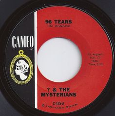 & the Mysterians, Cameo, 1966 Bad Songs, Love Songs, Music Songs, Old Records, Vinyl Records, Kinds Of Music, Music Is Life, Center Labels, American Bandstand