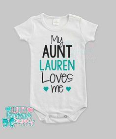 03e1ff040ead 73 Best Auntie baby clothes images