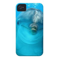 Smiling Dolphin iPhone 4 Cover Take it today only with 50% discount (off all cases) with code CASEOFMONDAY
