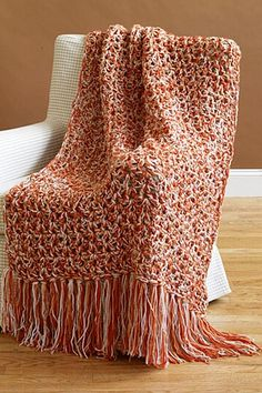 Free Crochet Pattern: 5 1/2 Hour Throw