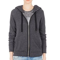 """♣️ NSF Roxie dark grey zip up hoodie jacket XL This is a perfect NSF dark grey hoodie. It is an oversized zip up. Bust 42"""" length 25"""". Made of cotton and polyester. Mens size medium womens size extra large.    All items are from a clean, smoke free home  We ❤️ offers but will only be considered by using the """"OFFER"""" option  Trades  Modeling NSF Jackets & Coats Utility Jackets"""