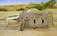 Mud Brick House & Accessory sprue 1