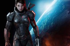 Shepard es una combatiente y feroz luchadora con la misión de salvar a todas las razas de la galaxia.
